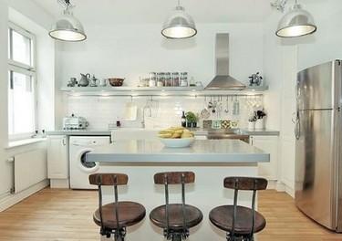 Distribución de la cocina: Cocinas en línea