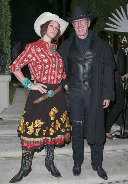 Jane Hajduk y Tim Allen
