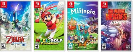 Juegos de Nintendo Switch en preventa en Amazon México