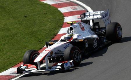 GP de Canadá F1 2011: Pedro de la Rosa pasa a la Q2, sorprendiendo con su regreso a la categoría
