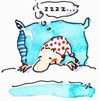 La falta de sueño no se recupera durmiendo más