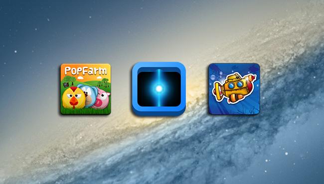 Tres juegos gratuitos Mac App Store