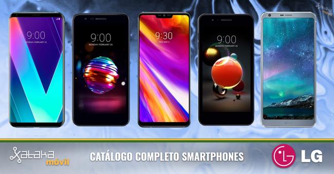 LG G7, así encaja dentro del catálogo completo de smartphones LG en 2018