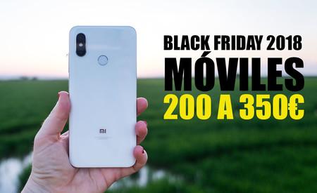 Black Friday 2018: las mejores ofertas de móviles de gama media entre 200 y 350 euros