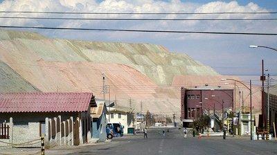 Chuquicamata, el pueblo fantasma de Chile