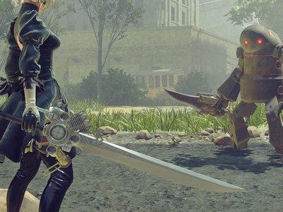 NieR: Automata: 2B recibe la espada del héroe de Final Fantasy XV y la estrena en un nuevo tráiler