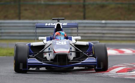 Kevin Korjus marca el mejor tiempo del primer día de las pruebas de la GP3 en Hungaroring
