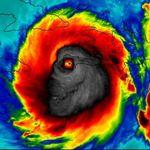 La foto viral del huracán más poderoso del Atlántico en casi una década: Matthew