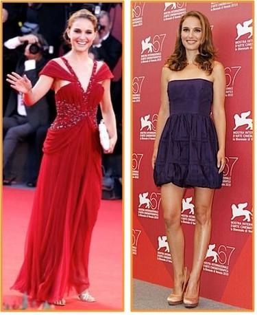 Natalie Portman y la perfección en la alfombra roja