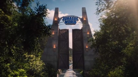 Las puertas de Jurassic World