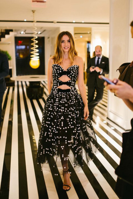 Ana De Armas Cfda Awards 2016 Carolina Herrera