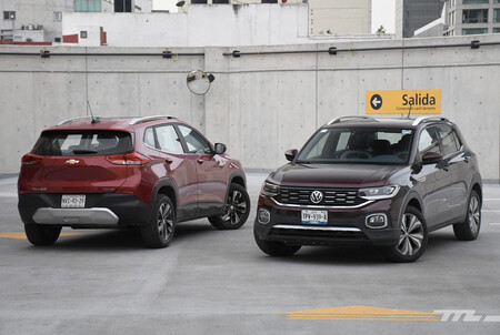 Chevrolet Tracker Vs Vw T Cross Mexico Comparativa 7