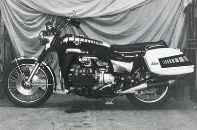 Honda Gold Wing, sus 40 años en fotografías