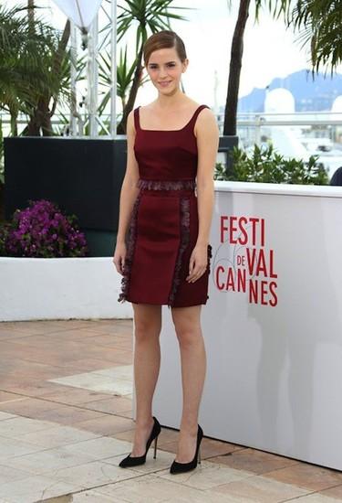 Así da gusto invitar a gente al Festival de Cannes: Emma Watson, siempre perfecta para la ocasión