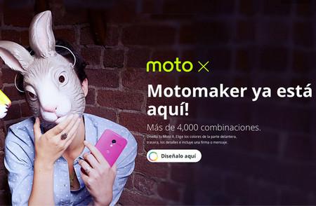 Ya puedes comprar un Moto X libre desde Moto Maker en México
