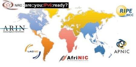 Las direcciones IPv4 disponibles están a punto de acabarse
