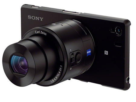 Sony QX10 y QX100, las cámaras adaptables para móviles se hacen oficiales
