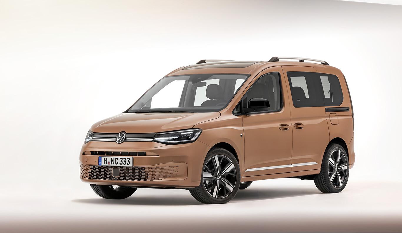 El Nuevo Volkswagen Caddy Pretende Ser Mas Funcional Y Familiar Escondiendo Su Base Industrial Con Mas Tecnologia