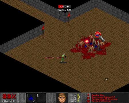 Doom conoce a Diablo
