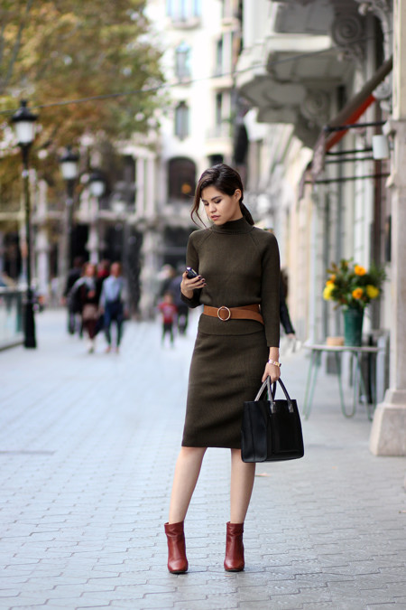 Look Working Girl Oficina Street Style 2