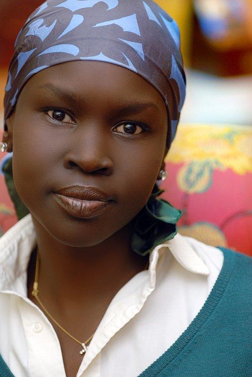 Foto de Alek Wek, de refugiada sudanesa a supermodelo (20/20)
