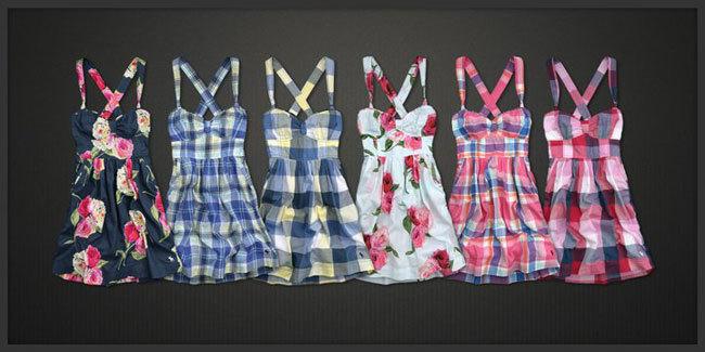 Vestidos Abercrombie & Fitch