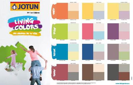 Jotun carta living colors con combinaciones