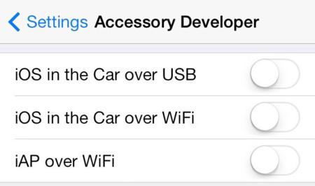 iOS en el Coche (iOS 7)