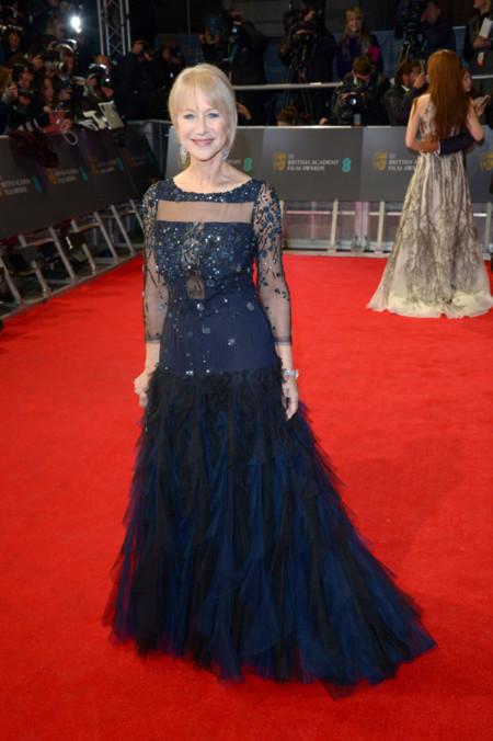 Helen Mirren BAFTA 2014