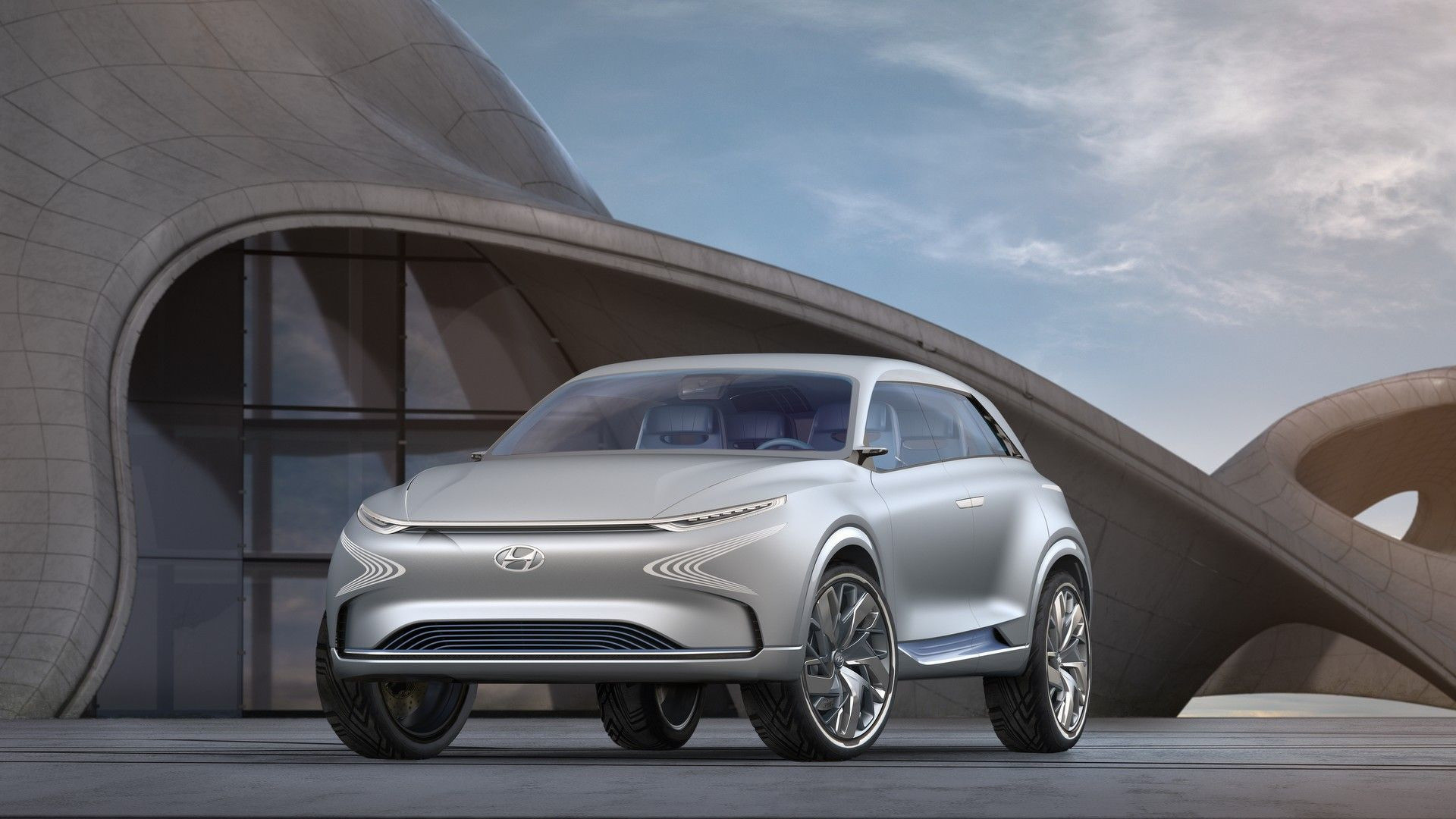 Foto de Hyundai FE Fuel Cell Concept 2017 (1/14)