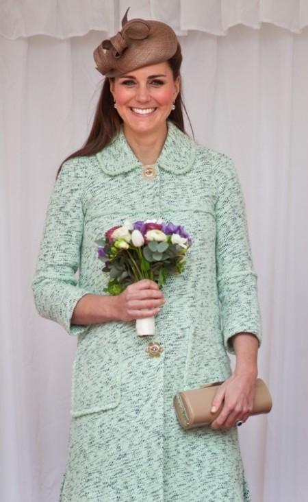 Kate Middleton o cómo lucir un real embarazo