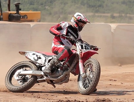 Franc Serra Alonso Racing Team Rancho Canudas Flat Track