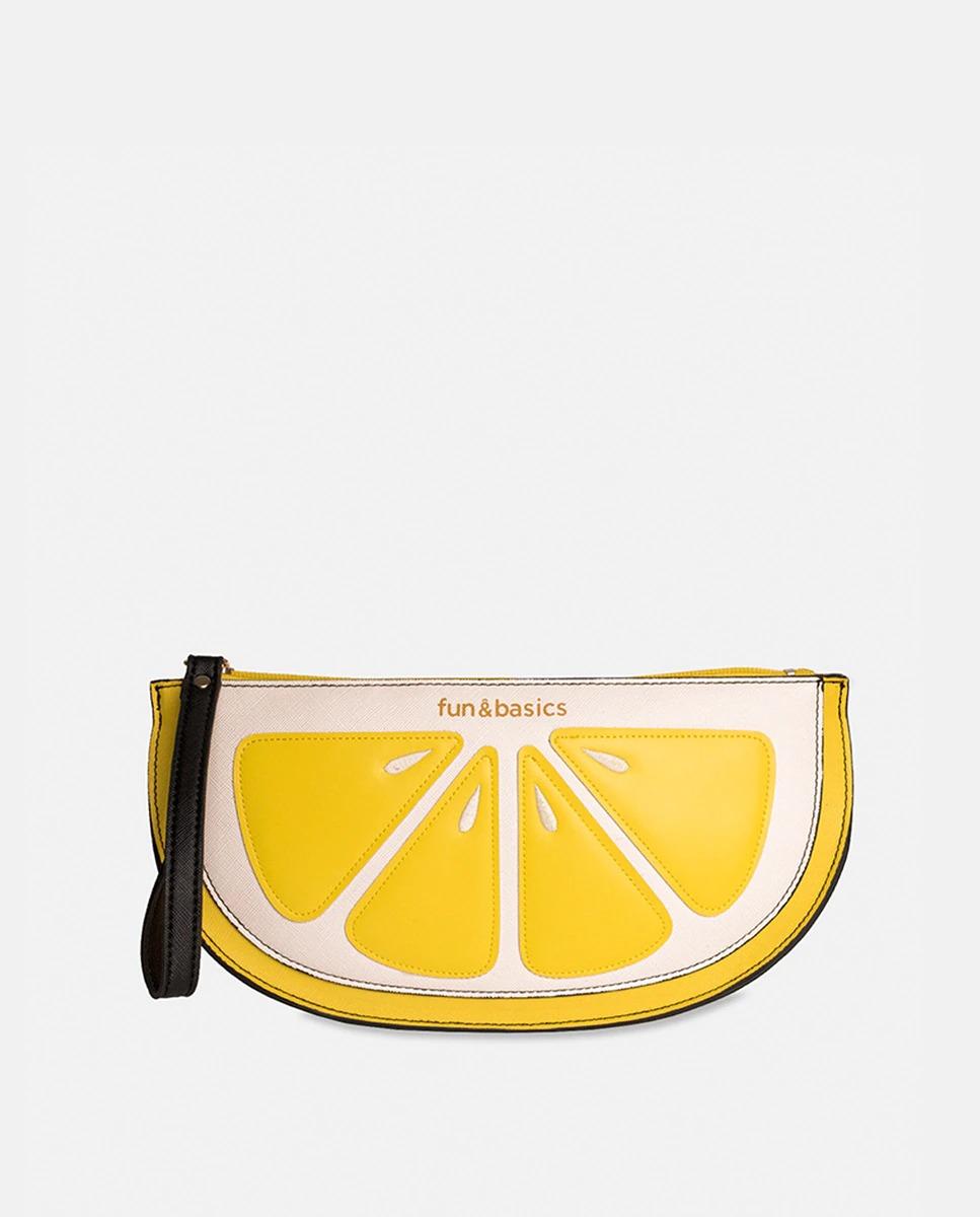Neceser de viaje en forma de limón