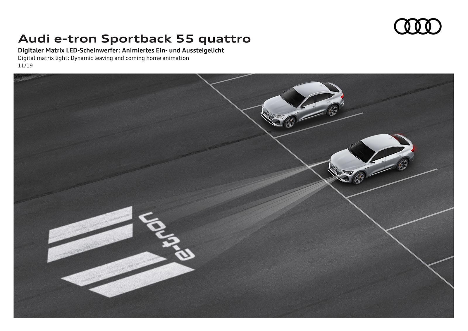 Foto de Audi e-tron Sportback (56/57)