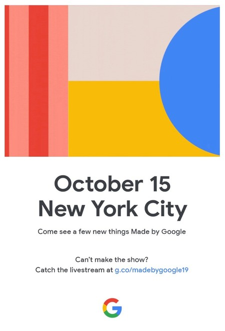 Made By Google® 2019 Invite