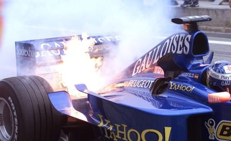 Heidfeld Espana F1 2000
