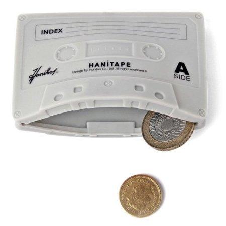 Hanitape, un monedero o tarjetero con forma de casette