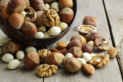 Los frutos secos con más calcio