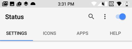 Android O rompe las aplicaciones que personalizan la barra de estado