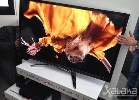 LG lanza sus primeros televisores PLED