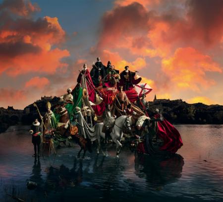 Todo a punto para el primer espectáculo de Puy du Fou, el parque temático de la historia en Toledo