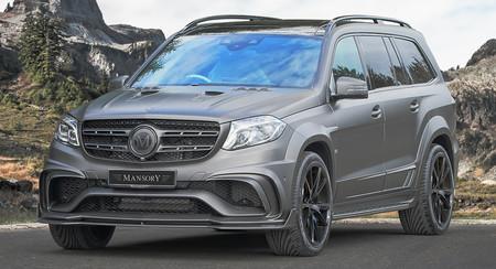 """""""Descomunal"""" se queda corto para el Mercedes-Benz AMG GLS 63 de Mansory con 841 CV y 294 km/h"""