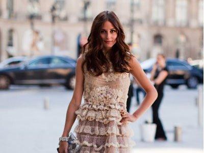 Olivia Palermo y Natalia Vodianova un mismo estilo en Semana de la Alta Costura de París