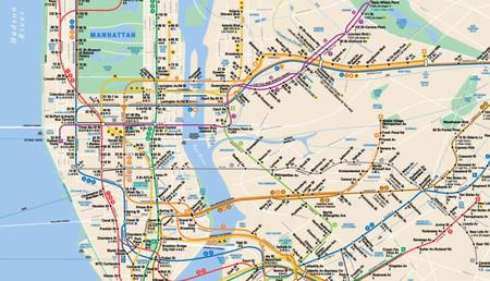 Este mapa interactivo te muestra la historia del plano del Metro de Nueva York como nunca antes la habías visto