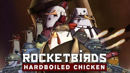 'Rocketbirds: Hardboiled Chicken' para PSN. Fantástico vídeo de presentación con música de New World Revolution
