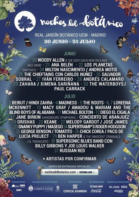 L Real Jardin Botanico Regresa Con Sus Noches De Conciertos Y Festivales