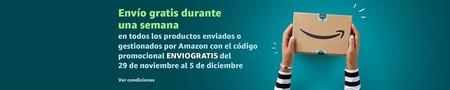Con este cupón ahora puedes comprar regalos, deporte o alimentación de Navidad en Amazon con envío gratis