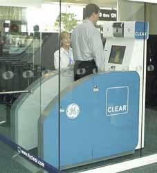 Escáner de zapatos en los aeropuertos
