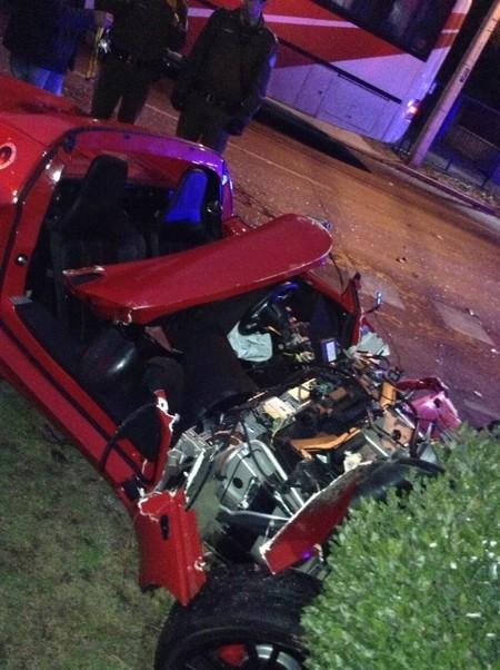 Lotus Elise estrellado en Santiago de Chile