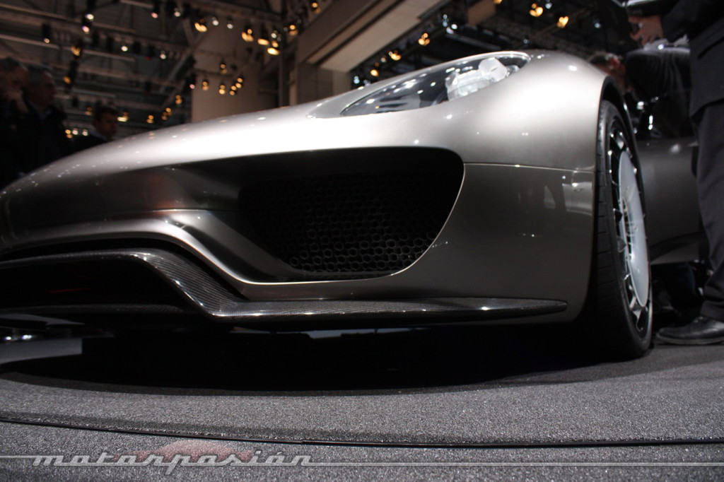 Porsche 918 Spyder Concept En El Sal 243 N De Ginebra 2010 10 24